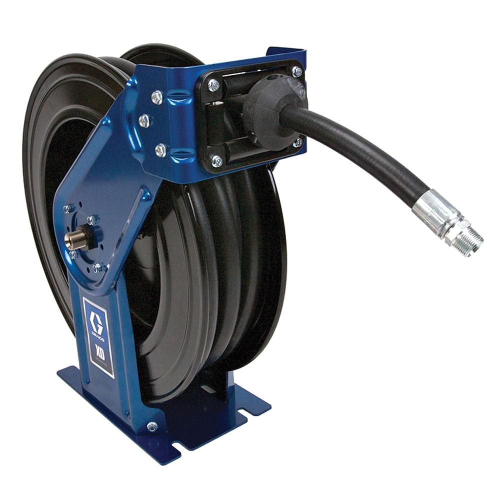 Graco Xd Air Water Hose Reel Hslc8f Workshop Equipment