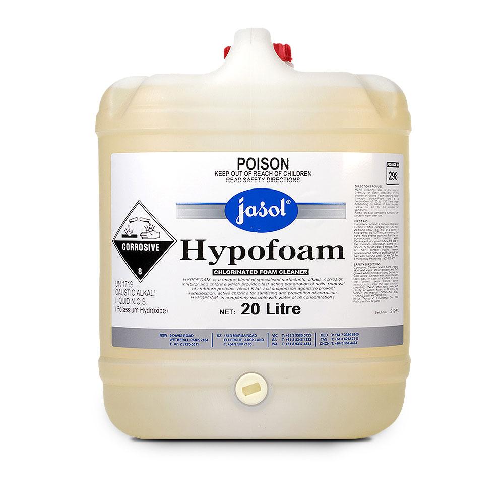 Jasol Hypofoam Chlorinated Cleaner
