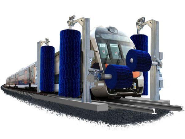 Rail Wash Machines